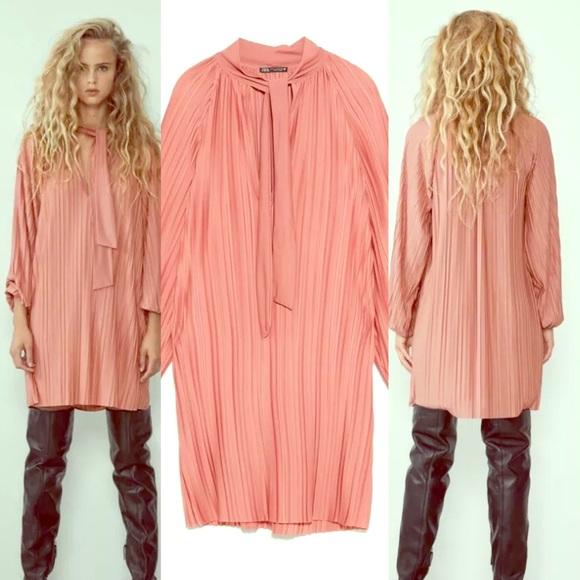 Zara Dresses & Skirts - Zara Pleated Dress